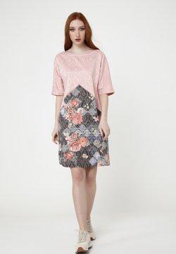 Madam-T - LOLITA - Freizeitkleid - rosa braun