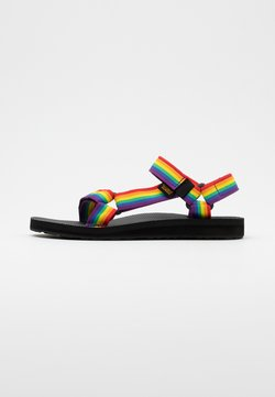 Teva - ORIGINAL UNIVERSAL WOMENS - Outdoorsandalen - rainbow/black