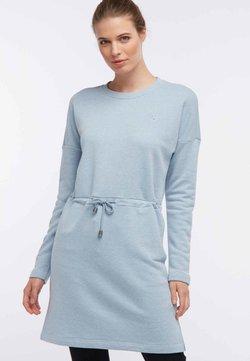 DreiMaster - Robe d'été - mottled light blue