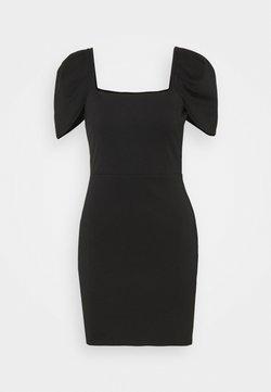 Miss Selfridge - PUFF SLEEVE MINI DRESS - Cocktail dress / Party dress - black