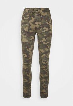 American Eagle - HI-RISE JEGGING JOGGER - Pantalon de survêtement - green