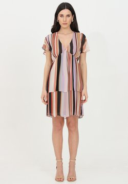 LIU JO - Vestido informal - lilac stripes