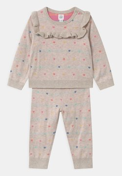 GAP - HEART SET UNISEX - Trui - oatmeal