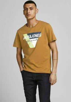 Jack & Jones - Printtipaita - brown/camel