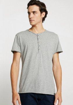 Key Largo - LEMONADE - T-shirt basic - silver melange