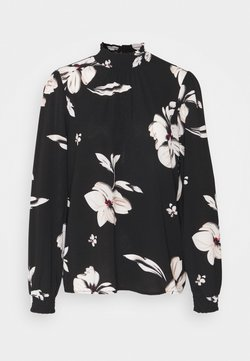 ONLY - ONLWINNER HIGHNECK - Langarmshirt - black