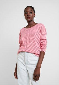 TOM TAILOR - Langarmshirt - pink stripe structure