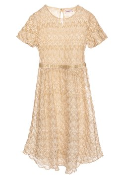 Missoni Kids - DRESS - Cocktailkleid/festliches Kleid - gold