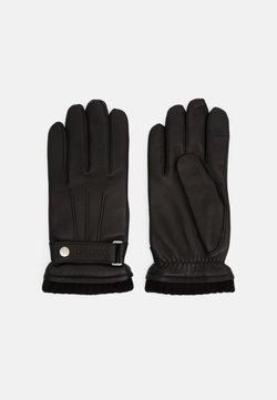 Calvin Klein - GLOVES SNAP - Sormikkaat - black