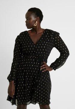 Glamorous Curve - Korte jurk - black/gold