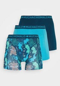 MUCHACHOMALO - PLASTIC 3 PACK - Shorty - blue