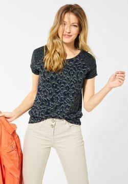 Cecil - MIT LEO-MUSTERMIX - T-Shirt print - grün