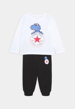 Converse - STAR TEE SET - Trainingsbroek - white