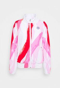 BIDI BADU - GENE TECH JACKET - Training jacket - white/red