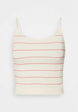 Pieces Petite - PCTYRUS STRAP - Top - buttercream/red