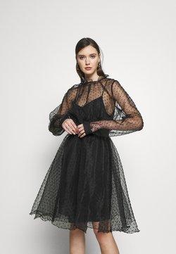 Custommade - VIRA DRESS - Cocktail dress / Party dress - anthracite black
