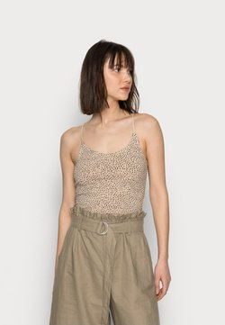 Abercrombie & Fitch - BARE STRAPPY BRAMI - Top - camel