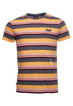 Superdry - T-Shirt print - ochre marl stripe