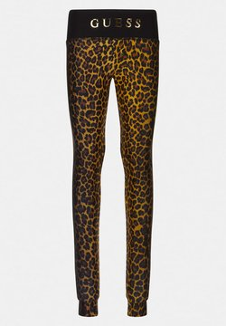 Guess - JUNIOR ACTIVE - Leggings - Hosen - leopard combo