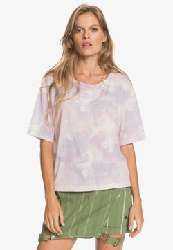 Roxy - T-Shirt print - orchid petal fly time