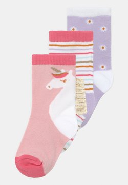 Cotton On - CREW 3 PACK - Calcetines - pink