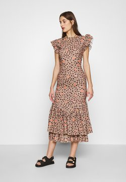 Never Fully Dressed - LEOPARD PRINT FRIDA DRESS - Freizeitkleid - brown
