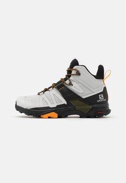 Salomon - X ULTRA 4 MID GTX - Hiking shoes - lunar rock/magnet/buttersco