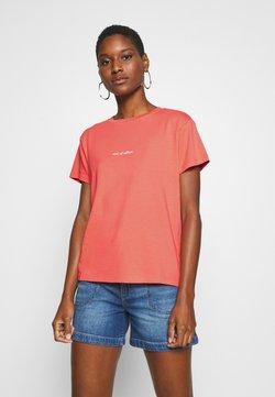 Marc O'Polo - SHORT SLEEVE - T-Shirt print - salty peach
