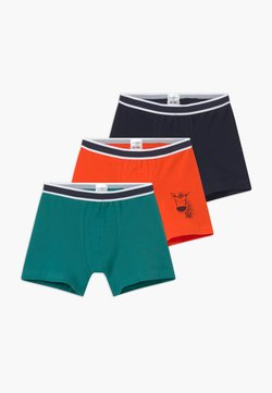 Schiesser - KIDS 3 PACK - Shorty - dark blue/orange/green
