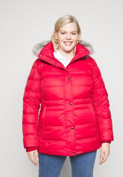 Tommy Hilfiger Curve - TYRA - Down coat - primary red