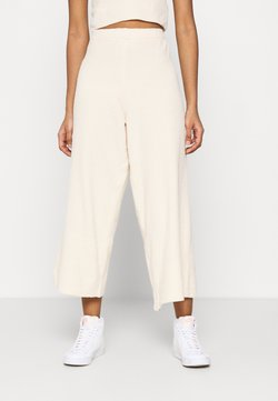 Monki - CALAH TROUSERS - Kangashousut - beige light