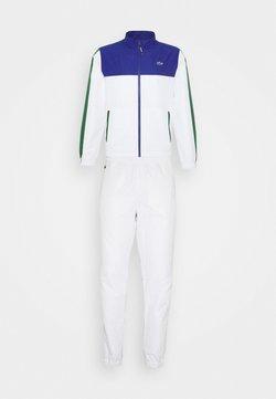 Lacoste Sport - TENNIS TRACKSUIT - Survêtement - cosmic/white/green
