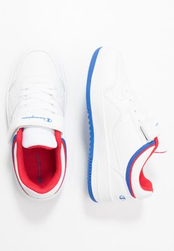 Champion - LOW CUT SHOE NEW REBOUND UNISEX - Koripallokengät - white/red