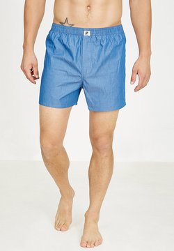 recolution - Boxershorts - blue striped