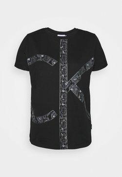Calvin Klein - PRINT REGULAR FIT - T-Shirt print - black