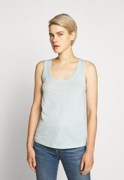 J.CREW - VINTAGE TANK - Top - faded mint