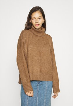 Noisy May - NMIAN ROLL NECK  - Strickpullover - partridge