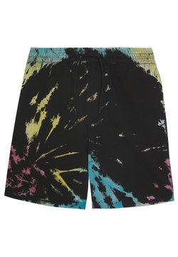 Urban Classics - TIE DYE - Shorts - black