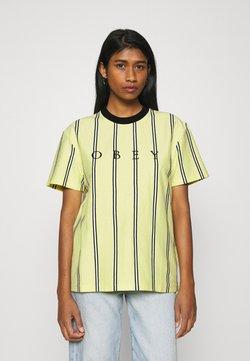 Obey Clothing - SHANKS  - T-Shirt print - lemon