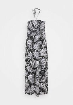 CAPSULE by Simply Be - PRINT SHIRRED DRESS - Trikoomekko - mono