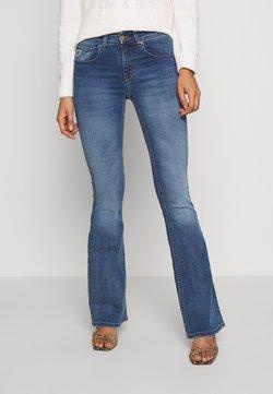 LOIS Jeans - MELROSE - Flared Jeans - dark stone