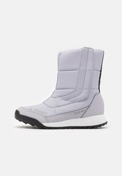adidas Performance - TERREX COLD.RDY SHOES - Bottes de neige - glow grey/clear black/purple tint