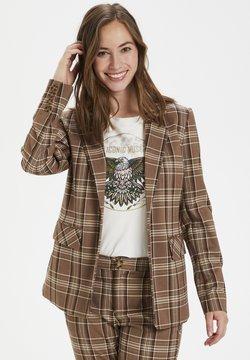 Culture - Blazer - brown check