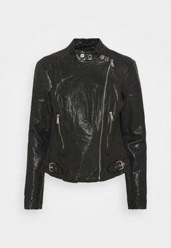 Lauren Ralph Lauren - FEYOSHI JACKET - Leather jacket - black