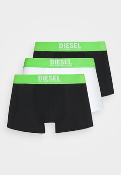 Diesel - DAMIEN 3 PACK - Panties - black/white