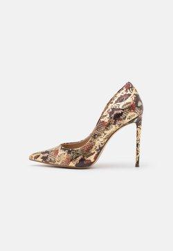 Steve Madden - VALA - High heels - gold/multicolor
