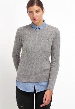 Polo Ralph Lauren - JULIANNA  - Stickad tröja - fawn grey heather