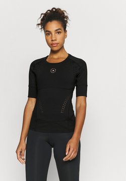 adidas by Stella McCartney - TRUEPUR TEE - T-Shirt print - black