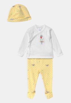 Absorba - ENS LAYETTE UNISEX - Pyjama - yellow/white