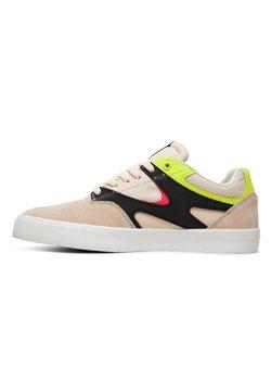 DC Shoes - KALIS VULC - Skateschuh - fluorescent pink/white